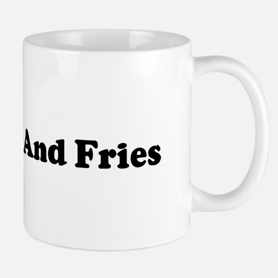 I Eat Burger And Fries Mug