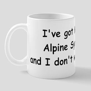 Multiple Alpine Goats Mug