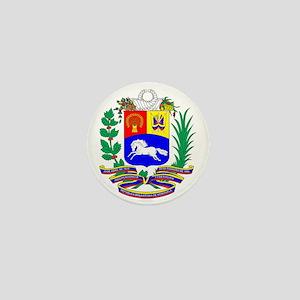 Venezuela COA Mini Button