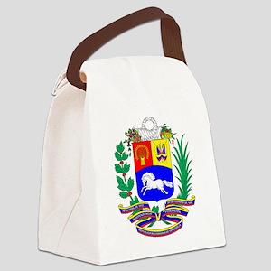 Venezuela COA Canvas Lunch Bag