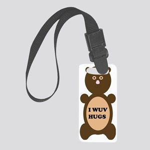 I WUV HUGS Small Luggage Tag