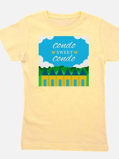 Condo Sweet Condo Girl's Tee