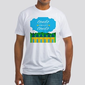 Condo Sweet Condo Fitted T-Shirt