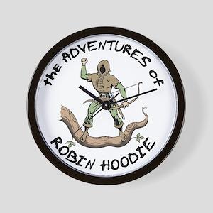 robin-hoodie-LTT Wall Clock