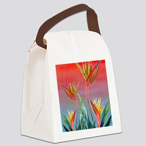 Bird of Paradise Canvas Lunch Bag