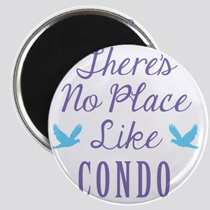 Theres No Place Like Condo Magnet