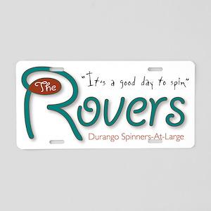 Rovers Aluminum License Plate