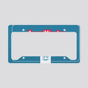 Lucas Design 2 License Plate Holder