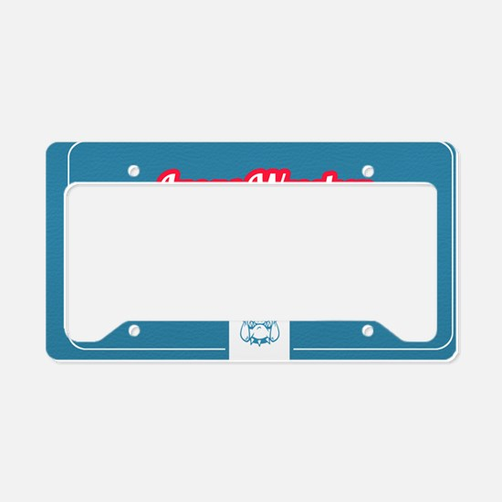 Lucas Design 2 License Plate Holder