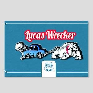 Lucas Design 2 Postcards (Package of 8)
