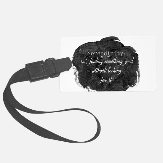 Serendipity Luggage Tag