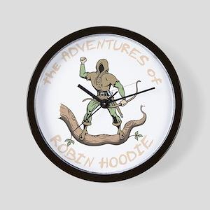 robin-hoodie-DKT Wall Clock