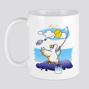 dodo is fishing Mug