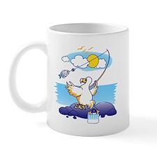 dodo is fishing Mug