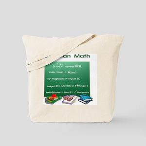Christian Math Tote Bag