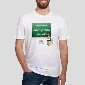Christian Math Fitted T-Shirt
