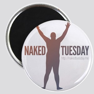 New NakedTuesday.me Tee Design 2 Magnet