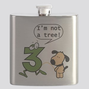 Doggie Pissing a 3 Flask
