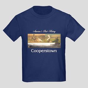 Cooperstown Americasbesthistory. Kids Dark T-Shirt