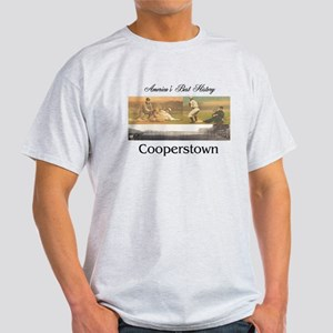 Cooperstown Americasbesthistory.com Light T-Shirt