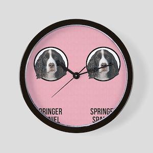 Springer Spaniel Mom Wall Clock