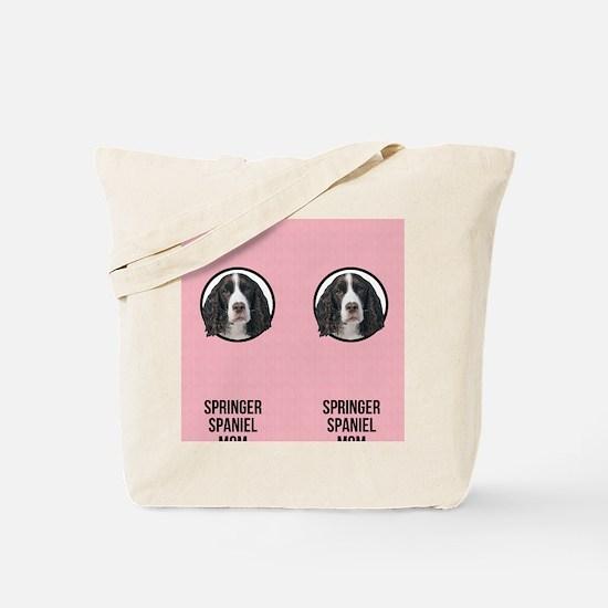 Springer Spaniel Mom Tote Bag