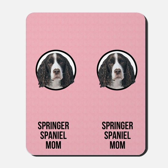 Springer Spaniel Mom Mousepad