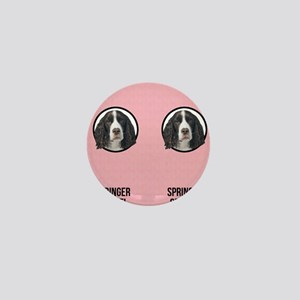 Springer Spaniel Mom Mini Button