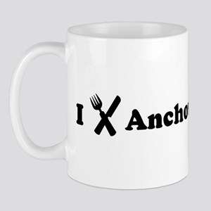 I Eat Anchovies Mug