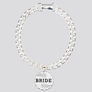 For The Bride Charm Bracelet, One Charm