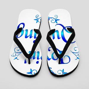 Lovin Quilting Flip Flops