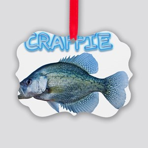 Crappie Picture Ornament