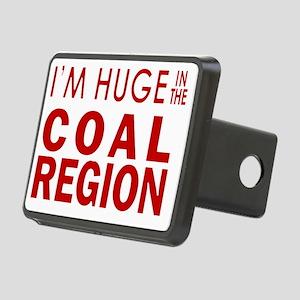 Im Huge in the Coal Region Rectangular Hitch Cover