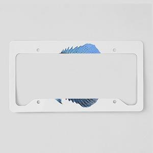 Crappie License Plate Holder