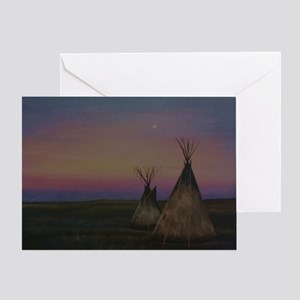 Tepees Greeting Card
