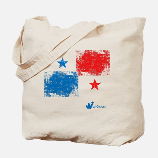 Panama Flag Tote Bag