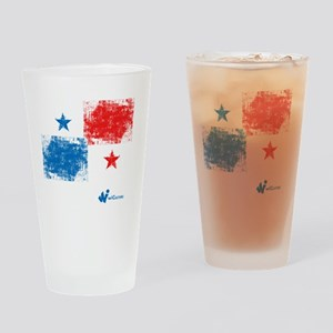 Panama Flag Drinking Glass
