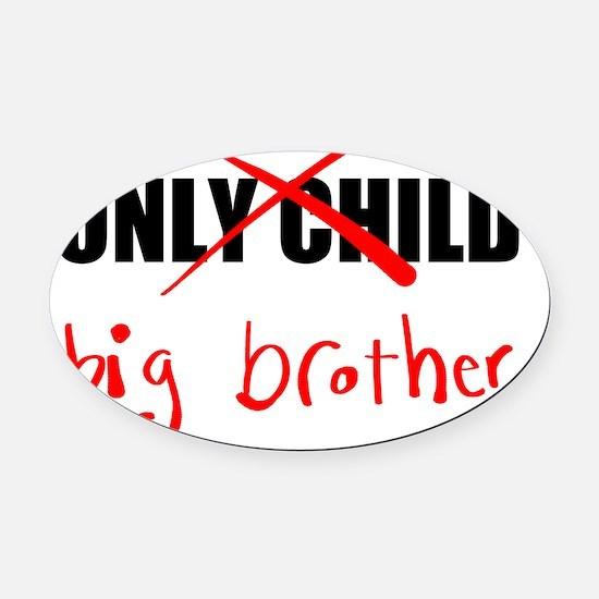 Big Brother Oval Car Magnet