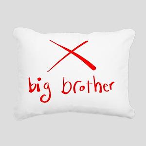 Big Brother Rectangular Canvas Pillow