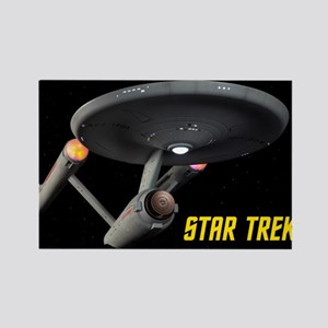 USS Enterprise High Resolution Rectangle Magnet