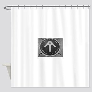 AP Trail Hike Shower Curtain