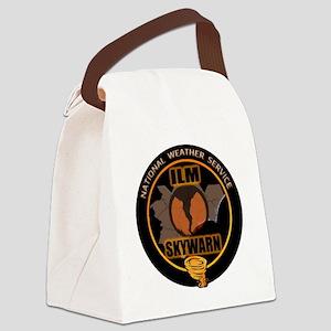 ILM SKYWARN Canvas Lunch Bag