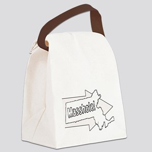 Im with Masshole Canvas Lunch Bag