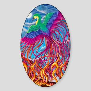 Phoenix 16x20 Sticker (Oval)