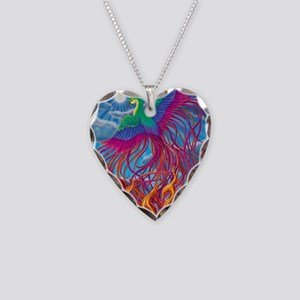 Phoenix 16x20 Necklace Heart Charm