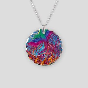 Phoenix 16x20 Necklace Circle Charm
