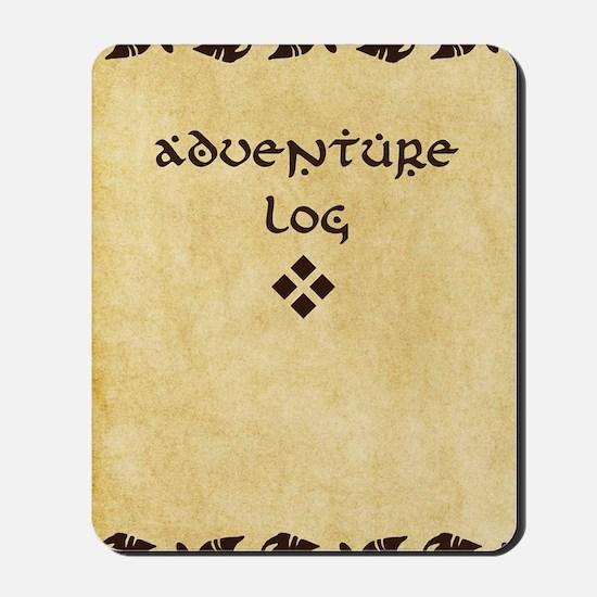 Adventure Log Mousepad