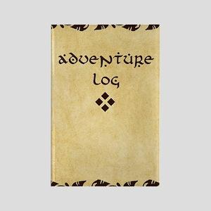 Adventure Log Rectangle Magnet