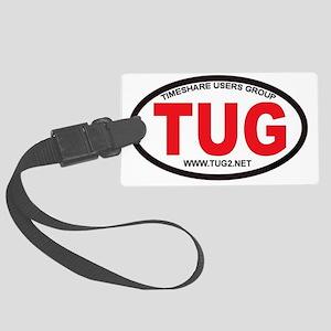 TUG Oval Logo Large Luggage Tag