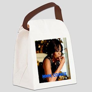 Michelle Obama Cookie Jar Canvas Lunch Bag